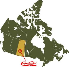 Canoeing in Saskatchewan