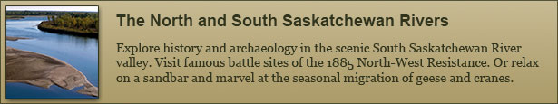 North and South Saskatchewan River Canoe Trips