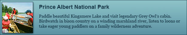 Prince Albert National Park Canoe Trips