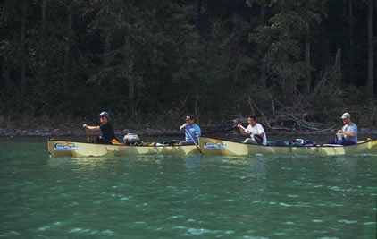 Canoeing in Prince Albert National Park