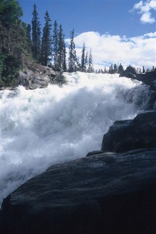 Nistowiak Falls on the Churchill River
