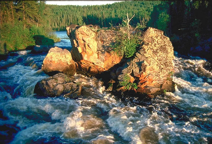 Contact Rapids - Clearwater River