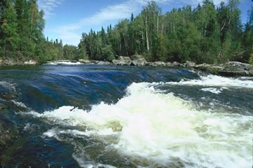 Paull River in northern Saskatchewan