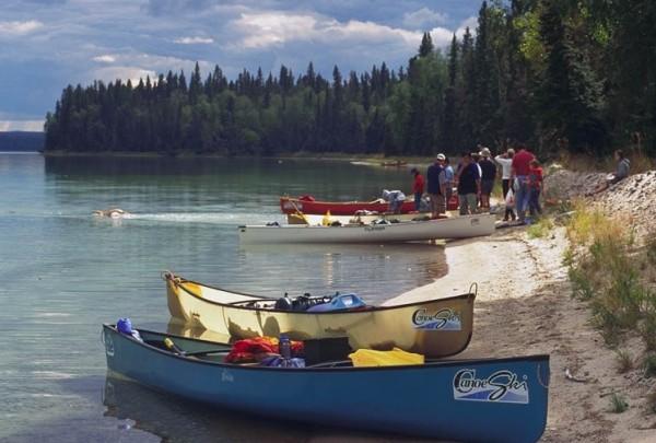 Kingsmere Lake in Prince Albert National Park