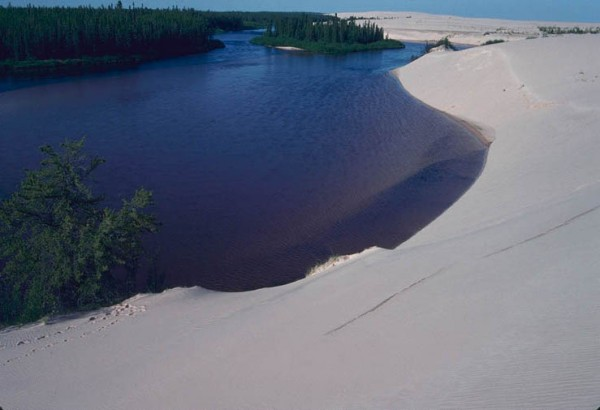 William River in northern Saskatchewan