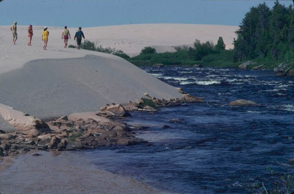 Hiking on the William River Sand Dunes