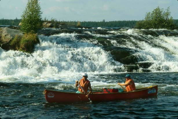 Tuck Falls, Paull River