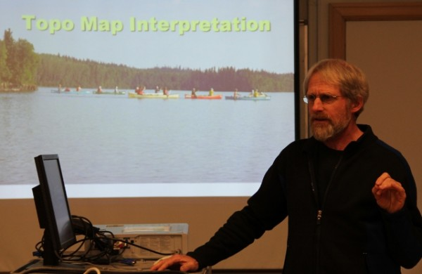 CanoeSki orienteering course mapping component
