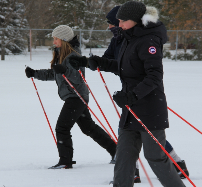 Learn to Cross-country ski  in Saskatoon's Kinsmen Park