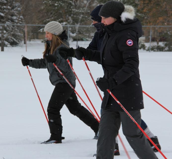 Learn to Cross-country ski  in Saskatoon's Kinsmen Park