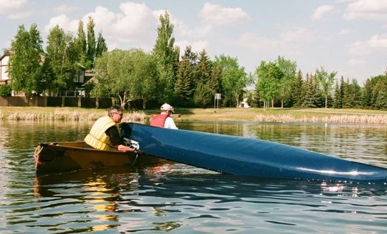 Learn to Canoe rescue lesson