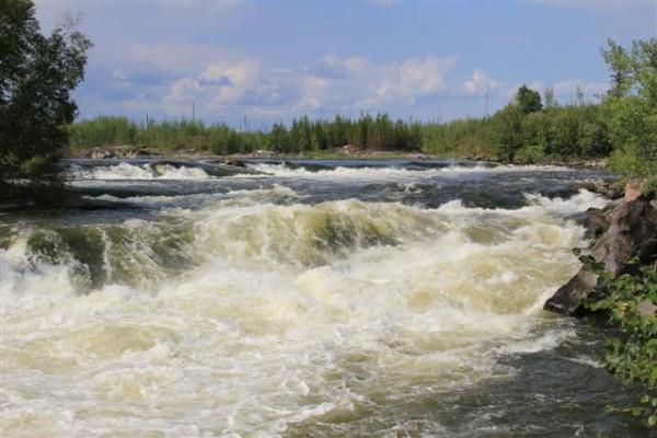 North Falls, Churchill River