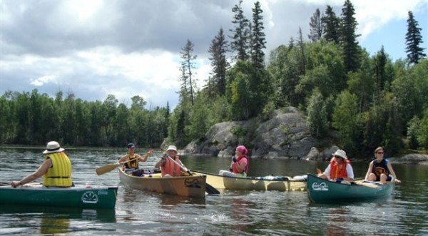 Canoeing the Churchill River