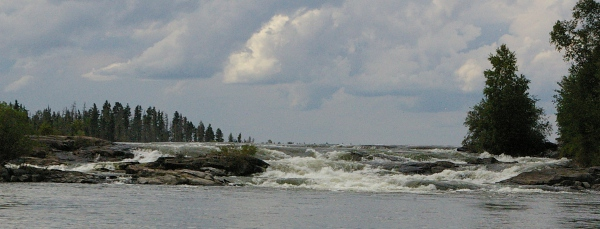 Robertson Falls, Churchill River