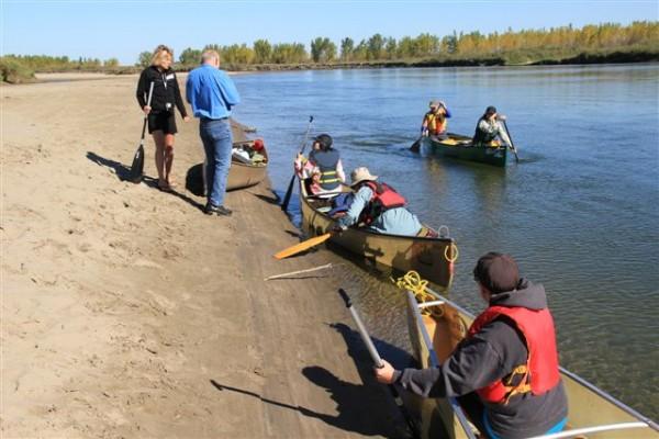South Sask River canoe trip