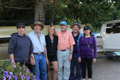 South Saskatchewan River canoe trip